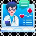 Doctor Stethoscope Healthcare Icon