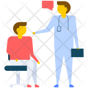 Patient Doctor Visit Icon