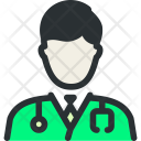 Doctor Staff Care Icon