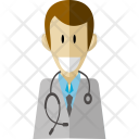 Doctor Professional Worker Icon