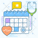 Medical Schedule Doctor Appointment Doctor Booking Icon