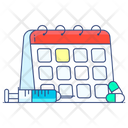Medical Schedule Doctor Appointment Book Your Appointment Icon