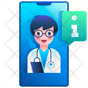 Doctor Ask Doctor Information Information Icon