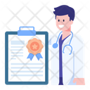 Doctor Certificate Icon