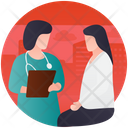 Doctor Consultation Doctor Suggestion Health Precaution Icon