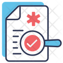 Doctor Consultation Medical Report Icon Icon