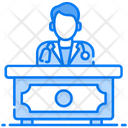 Doctor Desk Help Desk Doctor Rack Icon