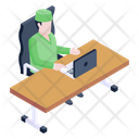 Doctor Desk Icon