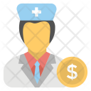 Doctor Fees Icon