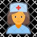Doctor Female Healthcare Icon