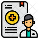 Document Doctor Medical Icon