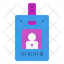 Doctor identity card Icon