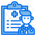 Doctor Report Medical Report Doctor Icon