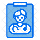Doctor Report Icon