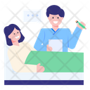 Doctor Report Writing Icon