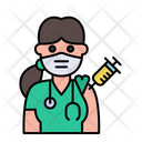 Doctor Vaccination Icon
