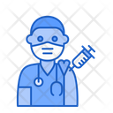 Doctor Vaccination Medic Doctor Icon