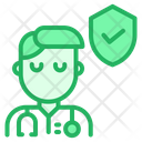 Doctor Shield Protection Icon