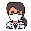 Doctor Avatar Woman Icon