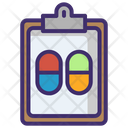 Doctor's prescription Icon