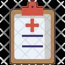 Doctor's prescription Icon