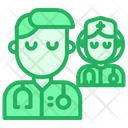 Doctor Team Nurse Icon