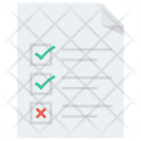 Document Paper Splittest Icon
