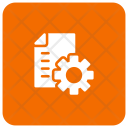 Document File Manage Icon