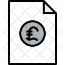 Document Finance Bank Icon