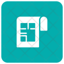 Document File House Icon