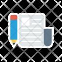 Document Write Create Icon