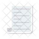 Document Flyer Page Icon