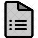 Document Paper Script Icon