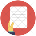 Document File Notes Icon