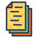 Document Pages Files Icon