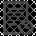 Document Revert Reverse Icon