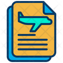 Airport Document Airport Instruction Flight Instruction Icon