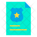 Police File Document File Icon