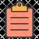 Document Clipboard Paper Icon