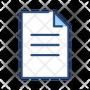 Document- Icon