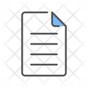 Document Insurance Paper File Icon