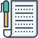 Document Approved Contract Icon