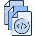 Document Coding Document Code File Icon
