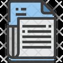 News Document Blog Icon