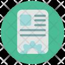 Document Optimize Paper Icon