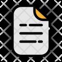 Document File Paper Icon