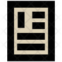 Document Paper Form Icon