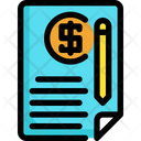 Document Investment Finance Icon