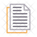 Document Sheet File Icon