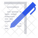 Document Note Logbook Icon